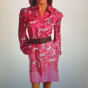 Lilly Pulitzer Wayles floral silk dress sz 4